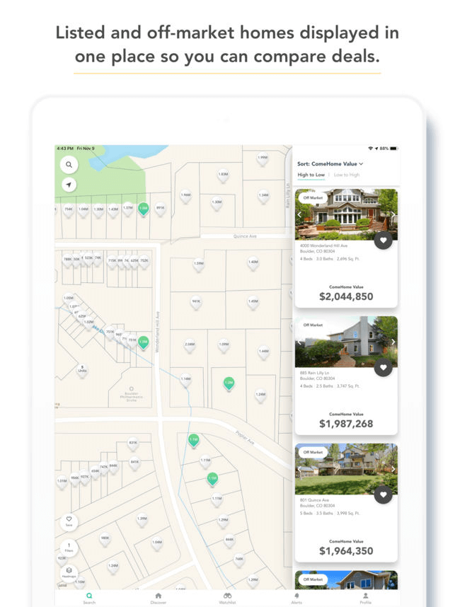 comehome by housecanary property browser