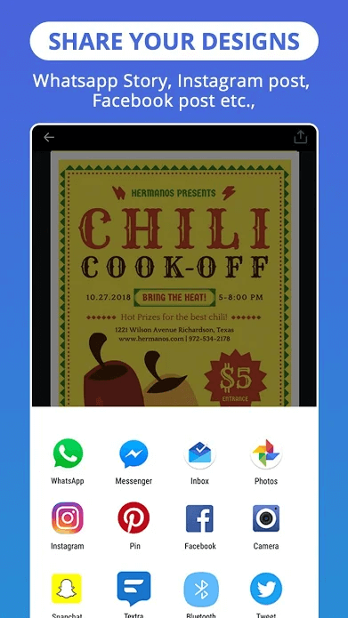 canva share app