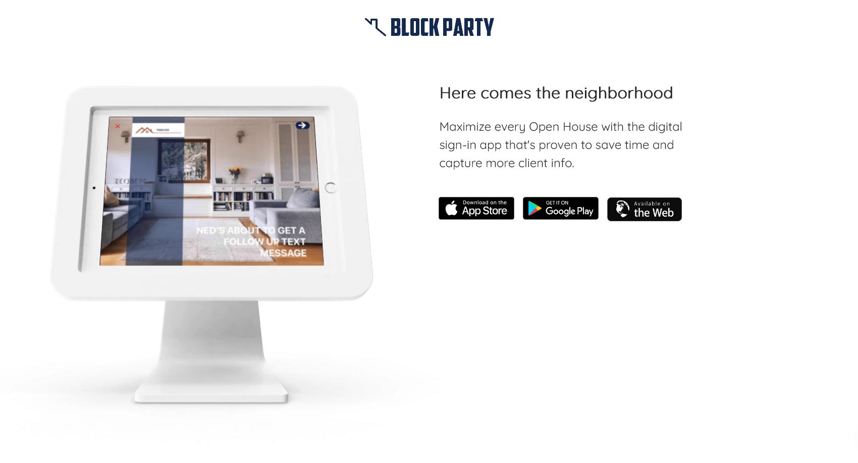 Block Party App